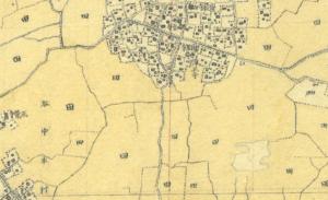 三河島地図明治迅速